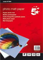 Fotopapier A4 matt 165g Inh. 100 Blatt 5 Star 917464