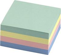 Haftnotizwürfel, pastell, 76x76mm, Inh. 320 Blatt 5 Star 920209