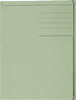 Einschlagmappen, grün, Karton , für A4 5 Star 921557