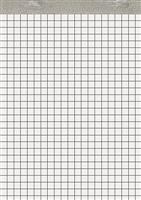 Notizblock ohne Deckblatt, kariert, 60g 5 Star 927155