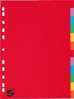 Kartonregister Economy, 12-teilig 5 Star 929240