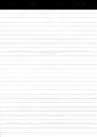Notizblock o.Deckblatt holzfrei, weiß, liniert, 5 Star 929917
