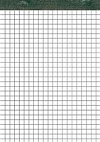 Notizblock o.Deckblatt holzfrei, weiß, kariert, 5 Star 929935