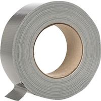Gewebeband 50 m x 25 mm silber 5 Star 930507