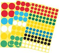 Markierungspunkt farblich sortiert Inh. 182 Stück 5 Star 932567