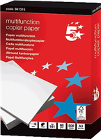 Kopierpapier Multifunktion A3 weiß 80g CIE 160 5 Star 961315