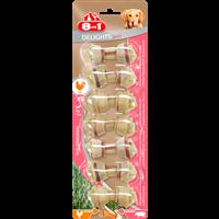 8in1 Pork Delights Kauknochen XS - 7 Stück (4048422122074)