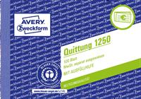 Quittungsbuch 1250 AVERY Zweckform 1250_1
