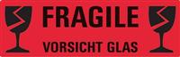 Hinweis-Etiketten Vorsicht Glas AVERY Zweckform 3050