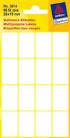 Vielzweck-Etikett AVERY Zweckform 3074