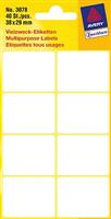 Vielzweck-Etikett AVERY Zweckform 3078