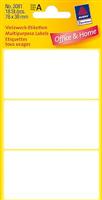 Vielzweck-Etikett AVERY Zweckform 3081
