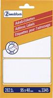 Adressetiketten zickzack AVERY Zweckform 3345