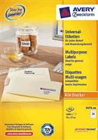 Universal Etikett AVERY Zweckform 3474-200