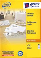 Universal Etikett AVERY Zweckform 3475-200
