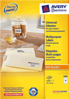 Universal Etikett AVERY Zweckform 3481