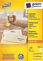 Universal Etikett AVERY Zweckform 3483-200