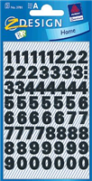 wetterfest Zahlenetikett 0-9 AVERY Zweckform 3781