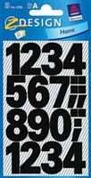 wetterfest Zahlenetikett AVERY Zweckform 3785