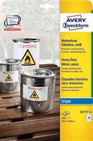 wetterfest Folien-Etikett AVERY Zweckform J4773-10