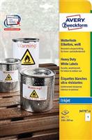 wetterfest Folien-Etikett AVERY Zweckform J4775-10