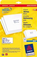 Adress-Etiketten AVERY Zweckform J8159-25