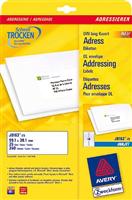 Adressetiketten AVERY Zweckform J8163-25