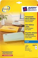 Adressetiketten AVERY Zweckform J8560-25