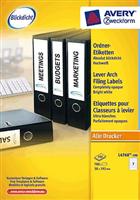 Ordnerrücken-Etiketten schmal AVERY Zweckform L4760-100