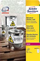 wetterfest Folien-Etikett AVERY Zweckform L4774-20