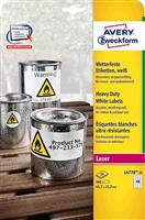 wetterfest Folien-Etikett AVERY Zweckform L4778-20