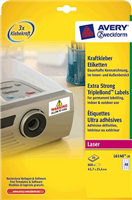 Kraftkleber-Etikett AVERY Zweckform L6140-20