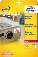 Kraftkleber-Etikett AVERY Zweckform L6141-20
