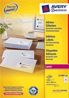 Adressetiketten QuickPeel AVERY Zweckform L7160-100