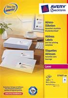 Adressetiketten QuickPeel AVERY Zweckform L7162-100