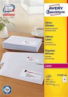 Adressetiketten QuickPeel AVERY Zweckform L7163-40