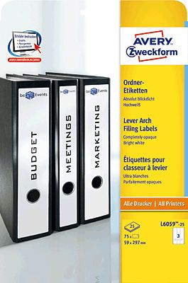 AVERY Zweckform L6059-25