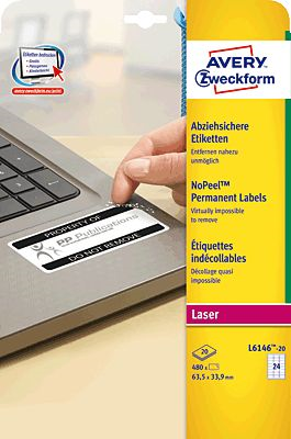 AVERY Zweckform L6146-20