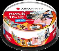 Agfa Photo 1x25 DVD-R / 4,7 GB / caja redonda