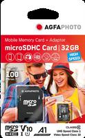 Agfa Photo MicroSDHC móvil 32 GB UHS-I U1
