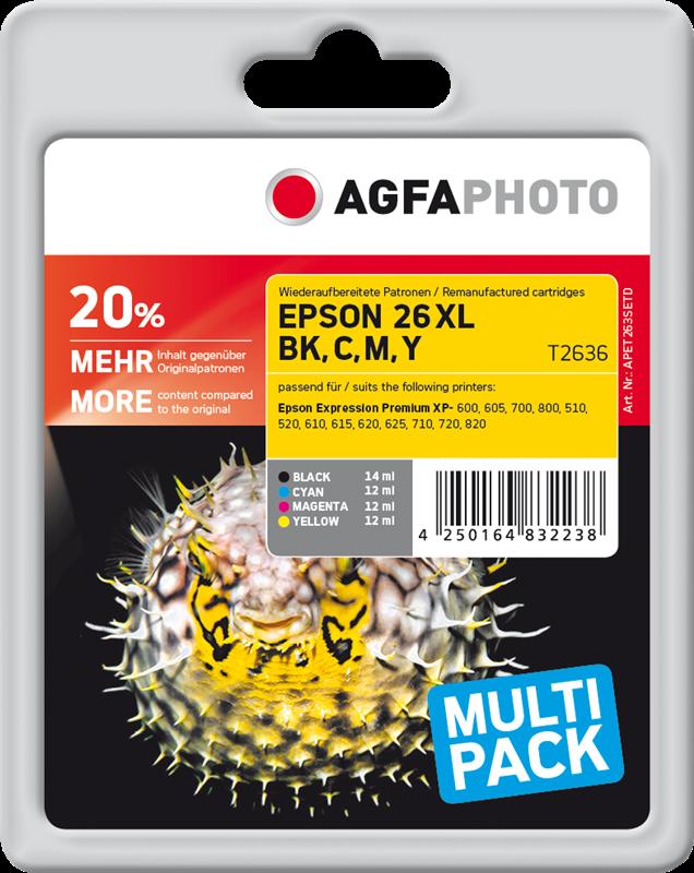 Multipack Agfa Photo APET263SETD