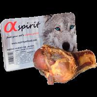 Alpha spirit Schinkenknochen - halb - 1 Stück (8437013576116)