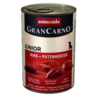 Animonda Gran Carno Junior - 400 g - Rind & Putenherzen (82728)