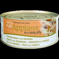 Applaws Natural Cat Tins - 70 g - Hühnchen mit Makrele (0259101418)