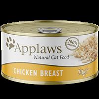 Applaws Natural Cat Tins - 70 g - Hühnerbrust (0746501)