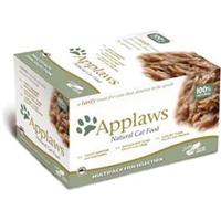 Applaws Natural Cat Pots Multipack - 8 x 60 g