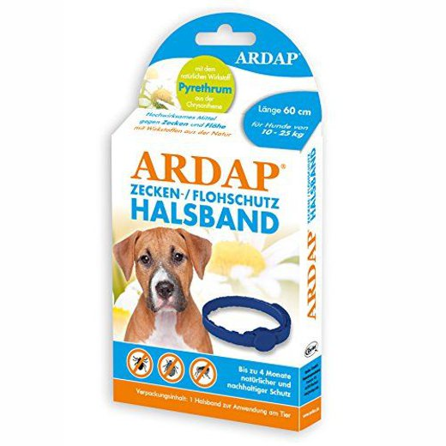 Ardap Zecken- u. Flohhalsband - mittel große Hunde 10-25 kg (60 cm) (77210)