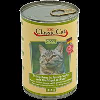 BTG Classic Cat Stückchen in feiner Soße - 415 g - Geflügel & Rind (6614315)