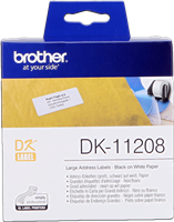 labels Brother DK-11208
