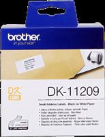 Etiquettes Brother DK-11209